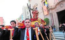 La imagen de San Andrés pasará meses fuera de su iglesia para ser restaurada