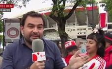 La bochornosa conexión en directo de un reportero de Noticias Cuatro