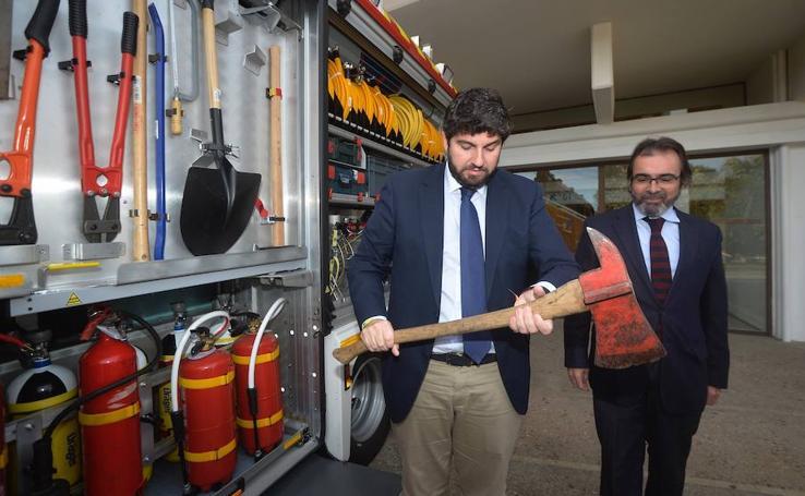 El Consorcio de Extinción de Incendios y Salvamento de la Región celebra sus 25 años