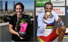 Alejandro Valverde y Ana Carrasco, mejores deportistas de Murcia en 2018