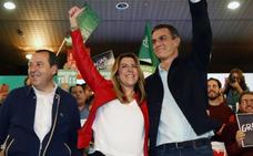 Pedro Sánchez pide «sentido común» para frenar a Vox en Andalucía
