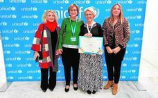 Servicios Sociales recoge un premio nacional