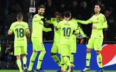 El Barça saca petróleo en el frenesí de Eindhoven