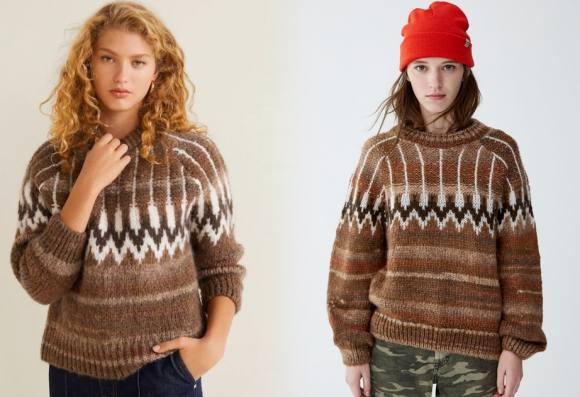 El jersey que se vende en Mango y Pull&Bear con 20 euros de diferencia