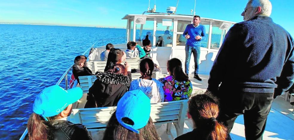 Una ruta ambiental aspira a potenciar el ecoturismo y las riquezas del Mar Menor