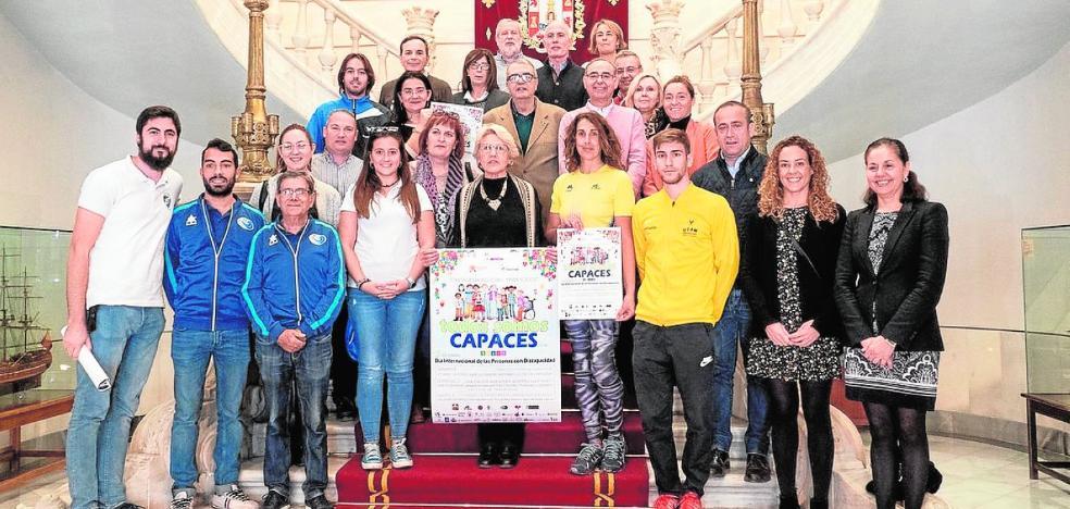 Seis clubes de Cartagena logran que el Día de la Discapacidad se convierta en una fiesta deportiva