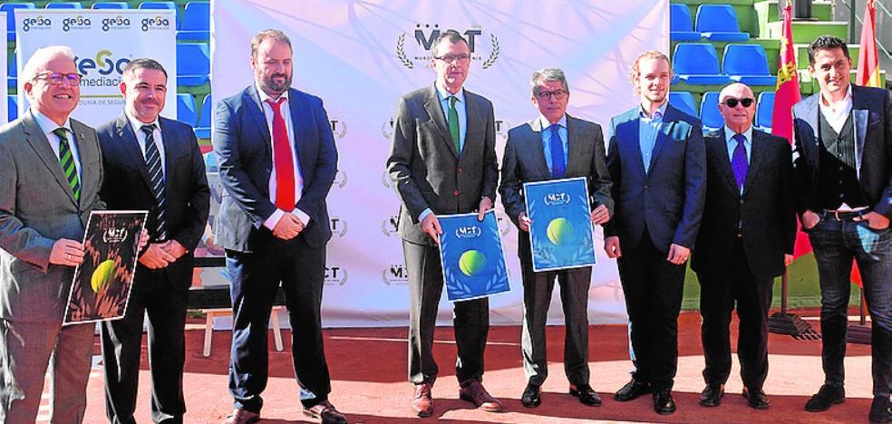 Murcia acogerá por primera vez un torneo ATP Challenger