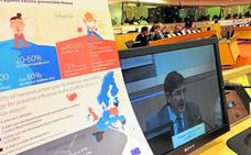 El consejero Villegas aboga en Bruselas «por una historia clínica electrónica europea»