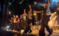 'James Brown tribute'