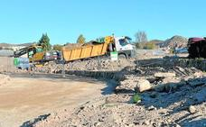 Arrancan las obras de la base logística de Limusa y del depósito judicial de vehículos de Lorca