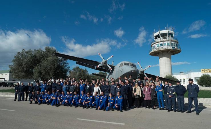 Jornada con la PAPEA en la Base Aérea de Alcantarilla
