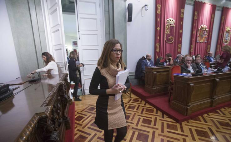 La alcaldesa de Cartagena suspende otra vez el Pleno tras sentirse «intimidada» por José López
