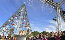 La Navidad 'comienza' hoy con el encendido del árbol de la Circular