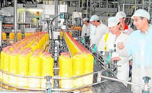 La industria murciana de zumos dispara un 26% sus exportaciones
