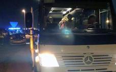 Once conductores de camiones y autobuses han dado positivo en alcohol o drogas en lo que va de año