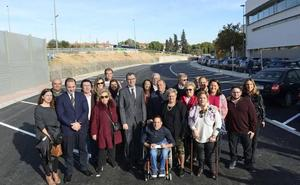 Abierto el nuevo aparcamiento disuasorio solidario de San Antón, con 80 plazas