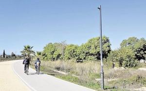 Rechazan condenar a un ciclista que chocó contra otro en el carril bici junto al Segura