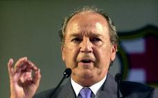 Muere José Luis Núñez, presidente del Barça durante 22 años
