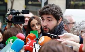 López Miras considera que al PP «no le debe dar miedo» votar con Vox