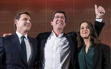 Marín reclama a Susana Díaz el apoyo para ser presidente andaluz