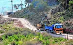 Arrancan las obras para crear un nuevo acceso al Castillo de Lorca desde el barrio de San José