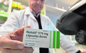 Varios pacientes irán a los tribunales por supuestos efectos adversos del Nolotil