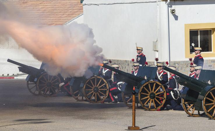 Los militares celebran la festividad de Santa Bárbara en Cartagena