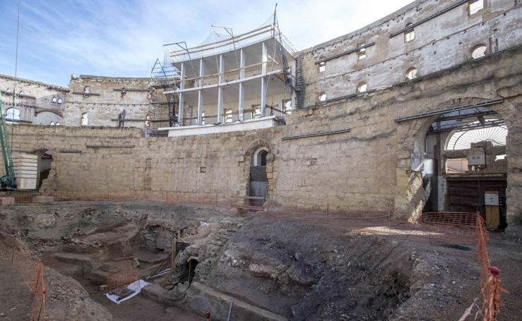 Mil personas verán el avance del Anfiteatro Romano de Cartagena a partir del día 14