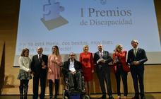 José Gracia, Delia Topham y el Cermi reciben los Premios de la Discapacidad