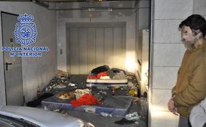 Detenido por agredir sexualmente y retener durante tres días a una chica en un garaje del barrio del Carmen de Murcia