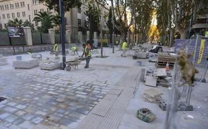 La peatonalización de Alfonso X podría estar completa a finales del próximo verano