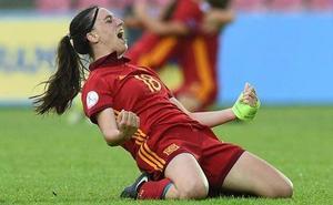 Eva Navarro, la prometedora estrella del fútbol femenino