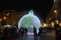 Y con la luz se hizo la Navidad en Murcia