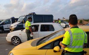 Detenidas 14 personas por conducir bebidas y 41 denunciadas por hacerlo bajo el consumo de drogas