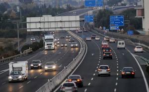 Las carreteras de la Región esperan 250.000 desplazamientos durante el puente