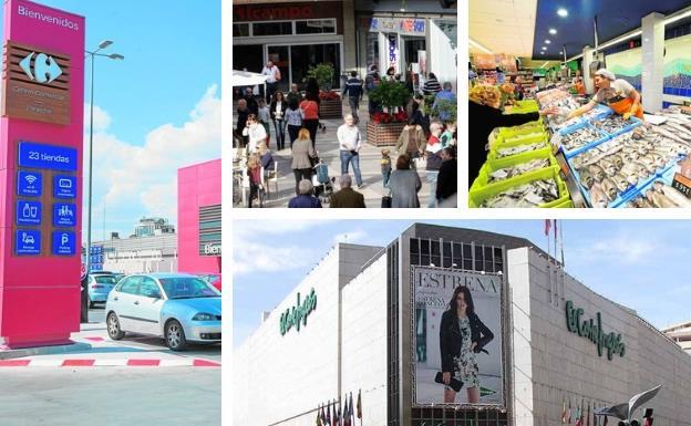¿Qué tiendas, supermercados y centros comerciales abren el puente de diciembre en la Región de Murcia?