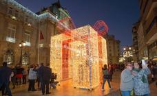 Encendido navideño en Cartagena