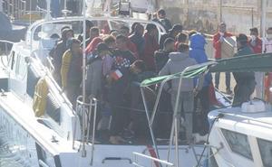 El jueves deja por ahora el desembarco de otros 49 inmigrantes irregulares en la Región