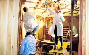 La histórica farmacia de Sala se reabrirá a comienzos de año tras su restauración
