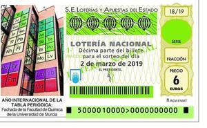 La Facultad de Química, en la Lotería Nacional