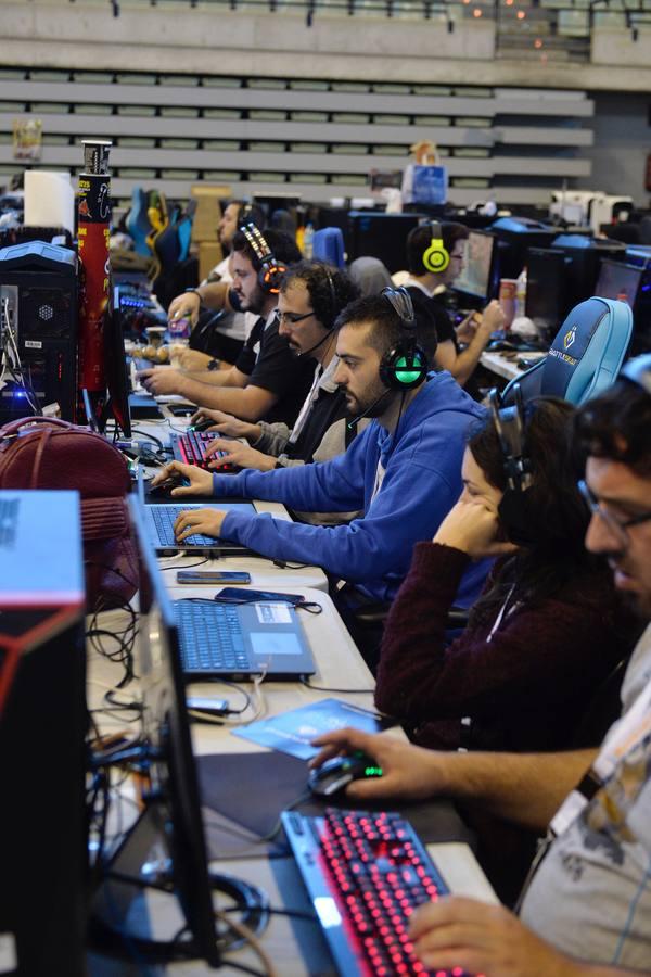 La 'Lan Party' reúne a un millar de 'gamers' en Murcia