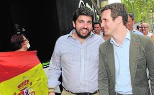 Casado apoya hoy en Murcia la nueva ofensiva por el agua emprendida por López Miras