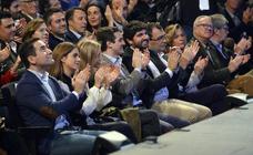 Acto de proclamación de López Miras y Ballesta como candidatos del PP a las elecciones