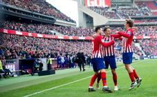 El Atlético de Madrid se reconcilia con la victoria