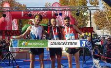 Albert Pujol y Azara García, campeones de España de trail