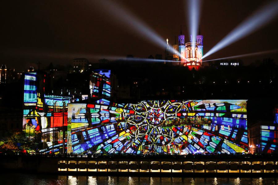 Noche de luces en Lyon