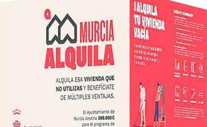 200.000 euros para alquiler de viviendas en Murcia