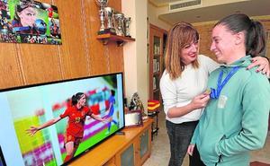 Eva Navarro, pasión por el fútbol