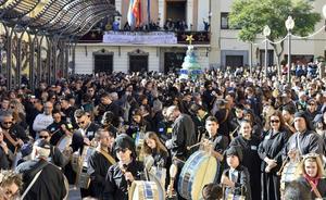 Mula y Moratalla celebran la declaración de Patrimonio Inmaterial de la Humanidad a golpe de tambor
