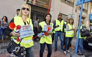 Los examinadores de Tráfico inician este lunes una huelga de 10 días